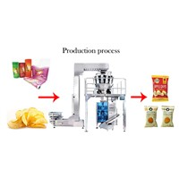 Easy Use Packing Machine for Plastic Bag Filling & Sealing with Weigher