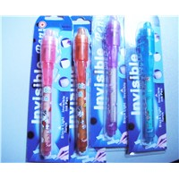 Wholesale Promotional Invisible Ink Pen with UV Light, Secret Message Pen, UV Pen, Individual Blister Card for Each Pen