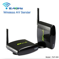 PAKITE 250 Meter 2.4GHz TV CCTV Wireless Transmitter & Receiver PAT-350