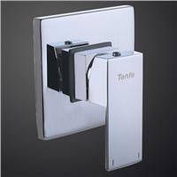 Square Shape 2 Way 4 Port Concealed Brass Bath Shower Diverter Valve /Mixer