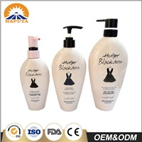 High-Capacity Opaque Lotion Pump Plastic Bottle for Shampoo