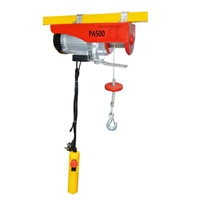Mini Electric Wire Rope Hoist Cable Hoist with Upper Limit Hoist
