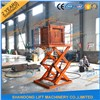 Hydraulic Scissor Warehouse Cargo Lift with CE