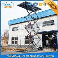 Hydraulic Scissor Type Car Lift Platform with CE
