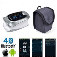 Pulse Oximeter Bluetooth 4.0 Oximetro De Dedo Blood Oxygen Saturation Oximetro a Finger