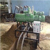 Widely Used Top Quality Cow Manure Dewater Machine Chicken Manure Compost Machine Poultry Manure Dewatering Machine