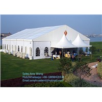 Customized Rainproof Outdoor Restaurant Tent with PVC Fabric