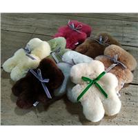 Purely Handmade Australia Merino Sheepskin Flat Koala Bear Toys
