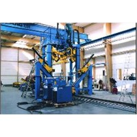 Huge Power Tower Shut & Welding Machine by SAW Welding Type