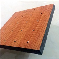 Wooden Slot Perforated Acoustic MGO Panel