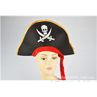 Pirates of the Caribbean Red Ribbon Hat