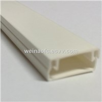 FTTH PVC Electrical Molding Conduit White