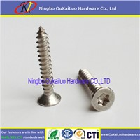 Nickel Plated Countersunk Head Torx Self Tapping Screws