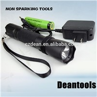 Non Sparking Torch, Flashlight LED, Charging Type Torch