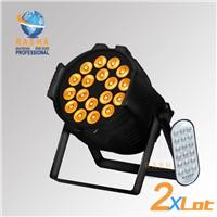 Rasha Hex 18*18W 6IN1 RGBAW UV IRC REMOTE LED PAR LIGHT for NIGHT CLUBE DISCO PARTY