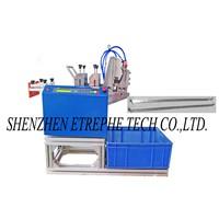 PV Ribbon Door Glyph Bend Cutting Machine