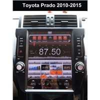 Tesla Screen Car Integrated GPS Navigation 12.1 Inch Toyota Prado 2010-2015