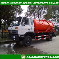China Supplier Offer 8cbm Vacuum Sewage Suction Truck for Sale