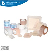 Collection of Hospital Supplies Medical Disposable Consumables Surgical Tapes Types of Wound Dressing