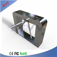Safety Bar Code Tripod Turnstile, Electronic Security Tripod Gate Barrier