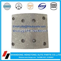 Brake Lining WVA 19486 for MAN, Mercedes-Benz, Renault