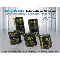 Kt Kingtronics Aluminum Electrolytic Capacitors Snap-In Type GKT-SS