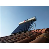 WattPro 10 15 20 25 30 Compact Heat Pipe Solar Water Heater