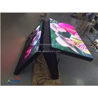 Outdoor Front-Door Service LED Display P6 P10 Double Face LED Freestanding Cabinet Sreen