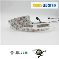 2017 Hot Sell High Quality SMD5050 RGB Dimmable Flexible Battery Light Strips for Home Lighting