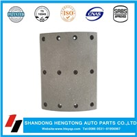 Auto Parts Non-Asbestos Brake Lining with Rivets for VOLVO Heavy Duty Truck Brake System
