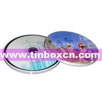 CD Tin, CD Box, Tin CD Box, CD Bag, CD Packaging, CD Case (BR1162)