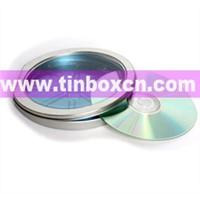 CD Tin Case, Tin CD Box, CD Tin Can, DVD Tin Box, Tin Can (BR1157)