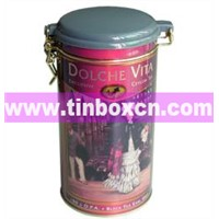 Tea Tin, Tea Box, Tea Caddy, Tea Tin Box, Tea Tin Can (BR1228)