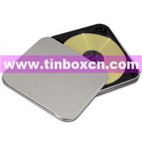 Tin CD Box, Tin CD Case, CD Box, CD Tin Box, Tin CD Bag, Metal CD Packaging (BR1154)