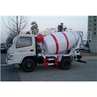 Foton SHIFENG KAMA 3cubic Small Concrete Mixer Truck for Sale