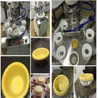 High Efficiency Egg Tart Making Machine