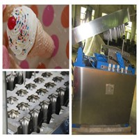 High Efficiency Ice Cream Cone Machine