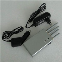 High Power Handheld Portable Cell Phone Jammer-Omnidirectional Antennas