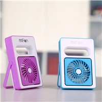 Portable USB DC 5V Mini Desktop Battery Hand Fan with Stand