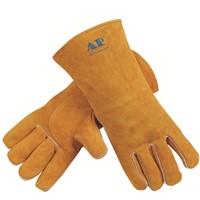 Unique Design Cow Split Leather Welding Gloves
