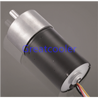37mm Gearbox + WBDM3650 Brushless DC Motor