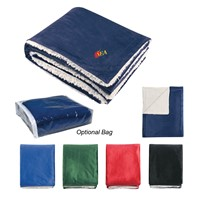 New Fresh Quality Supper Soft Flannel or Coral +230gsm Sherpa Blanket
