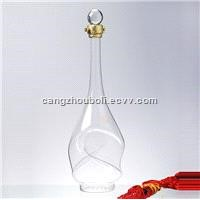 750ml Glass Bottle/Globe Glass Wine Bottle