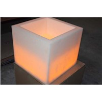 Artificial Stone Basin with Lights