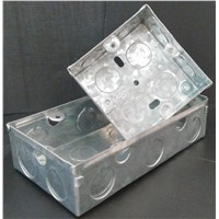 Electrical Metal & PVC Switch Box