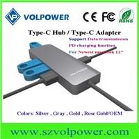 USB c Type-c Hub 3.0 for Macbook with 5 Port