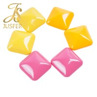 Shiny Colorful Decorative Metal Button Metal Pyramid Studs for Belt Shoes Jacket Garments Handbags Rivet Wholesale