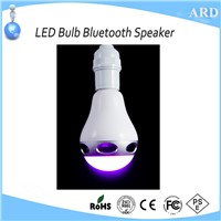 2017 New Style App Control Wireless LED Bulb Bluetooth Speaker