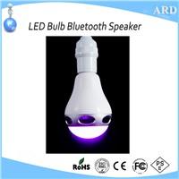 2017 New Style App Control Wireless LED Bulb Bluetooth Speaker