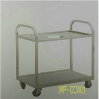 Stainless Steel Food Cleaning Cart for Commerical Kithen, Dining Room, Restaurant, Hotel Etc